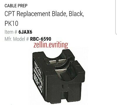 2 PCS CablePrep Blade RBC-6590 for CPT-6590 RG59 RG6 Cable Strip