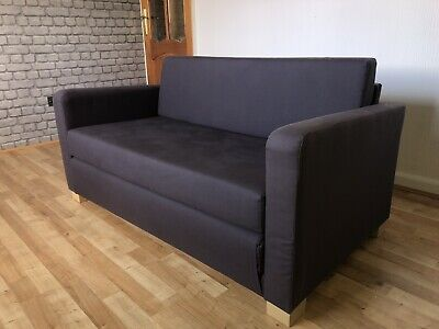 Astonishing Ikea Solsta Sofa Bed 2 Seater Navy Blue Fabric 41 50 Creativecarmelina Interior Chair Design Creativecarmelinacom