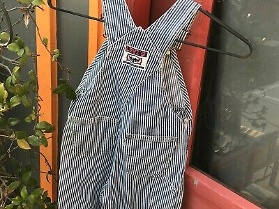 Vintage Levi's Stripped Youth Child's 3T Jeans Overalls Perfect Condition Rare !