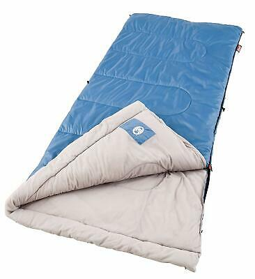COLD WEATHER SLEEPING BAG Coleman Brazos Hiking Outdoor Travel Camping Fleabag