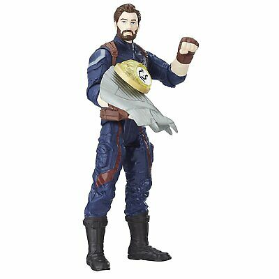 Marvel Avengers Infinity War Captain America Figure 6 Inch  With Infinity Stone