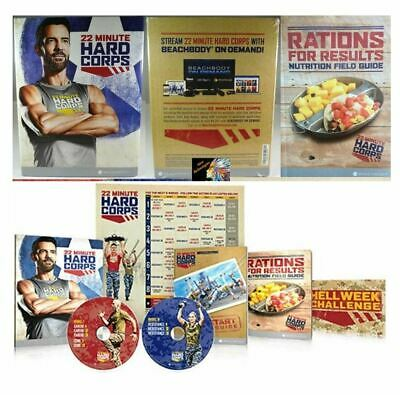 *New/Sealed* 22 MINUTE HARD CORPS  8 Workout DVD Fitness Program ~ Complete Set