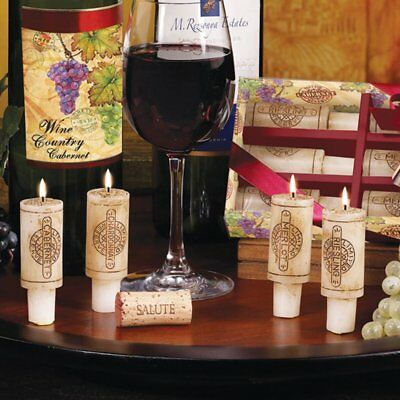 Wine Cork Candles Gift Set Wine Party Decor Wine Lovers Christmas Gift Idea