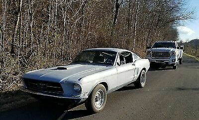 1968 Ford Mustang  1968 FORD MUSTANG FASTBACK GT V8 67- NO RESERVE -KY Eleanor Project Car