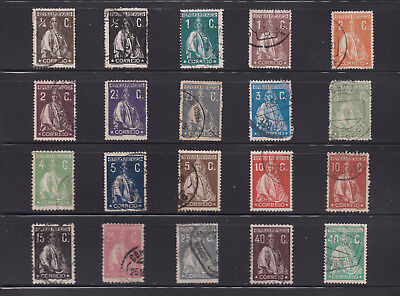 Lot of 20 Portugal Stamps - Mini Collection of Used Singles - Lot# PL23