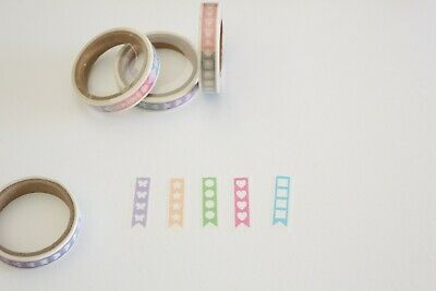 Checklist washi tape, to do list stickers washi tape, serrated washi tape