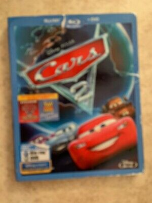 Cars 2 (Blu-ray/DVD, 2011, 2-Disc Set, Spanish)