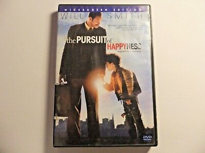 Used DVD the Pursuit of Happyness Widescreen Edition Will Smith