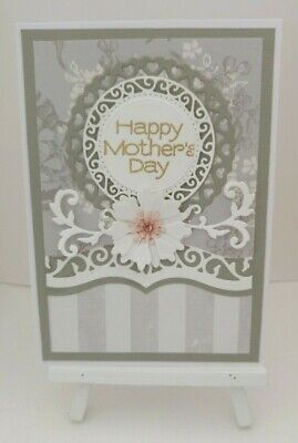 Handmade Mother's Day Card:Hydrangea Grey