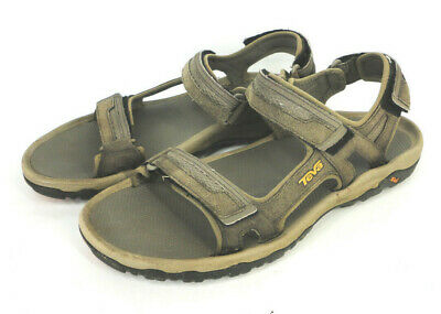 2fb07990e TEVA Hudson Mens Brown Casual Adjustable Sport Sandals Size US 13 (EU 47)