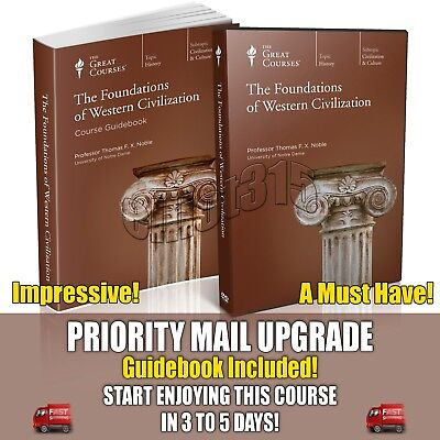 Foundations of Western Civilization DVD New Sealed Teaching Co Great Courses