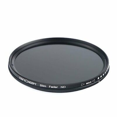 K F Concept ND filter 55mm KF-NDX55 variable NDX dimming range ND2 ND40... JAPAN