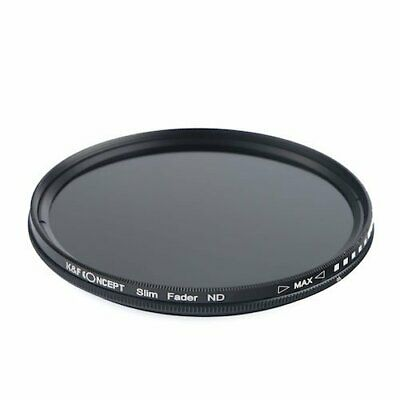 K F Concept variable ND filter 55mm KF-NDX55 NDX dimming range ND2 ND40... JAPAN