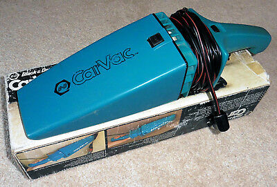 Black And Decker Car Vac Model 9510 In Original Box.