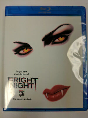 Fright Night Part 2 1988 BLU RAY Collector's Edition REGION FREE Bonuses Part II