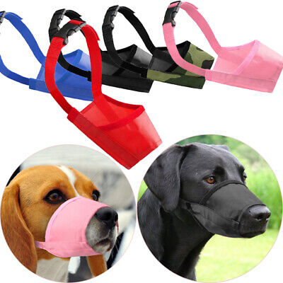 Dog Safety Muzzle Puppy Mouth Control Pet Accessories Head Collar Halter