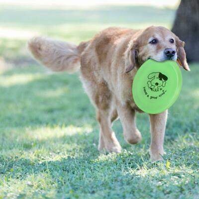 Pet Dog Toys Exercise Toy Training Tool PVC Puppy Dog Flying Saucer Disc