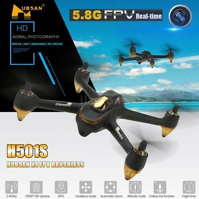 Hubsan H501S-S X4 FPV Brushless Drone 1080P Camera GPS Without Remote