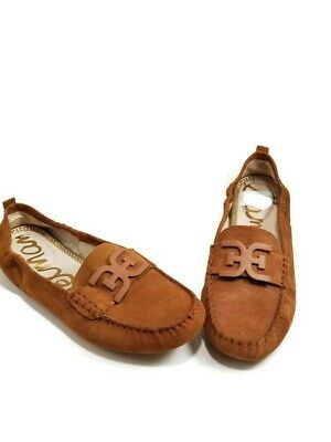 bed5283e0831f4 Sam Edelman Women s Farrell Driving Moccasin Size 10M Brown Suede NEW