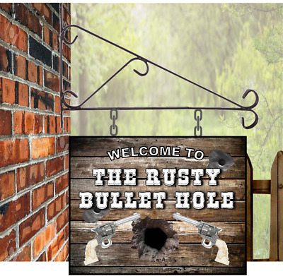 Bar Pub Shed Office Man Cave BBQ Rustic Wooden Sign Old Tired Sober Sh*t  Sign