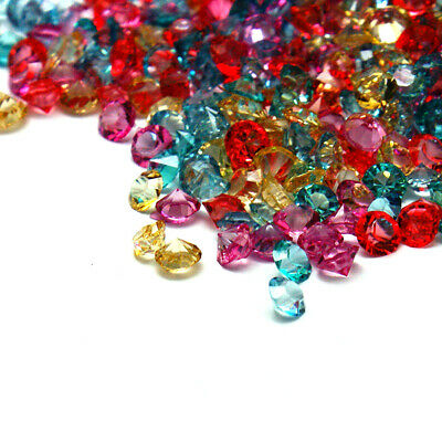 7200pcs Random Pointed Back Loose Resin Rhinestones Faceted Diamond Studs 3x2mm