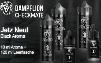 Dampflion Checkmate Black Knight Black Queen Black King 10ml Aroma Liquid Set