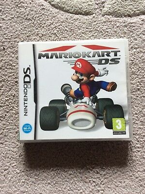 Mariokart Ds Case And Manual Only