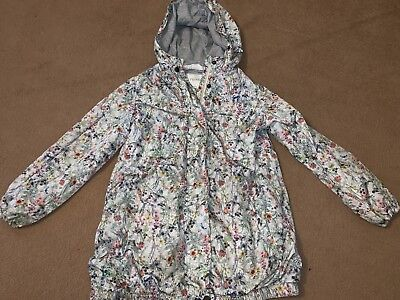 Girls NEXT 7 Years Jacket Floral Pattern