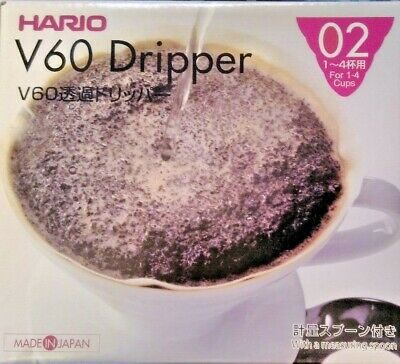 Hario V60 02 White Ceramic Coffee Dripper VDC-02W