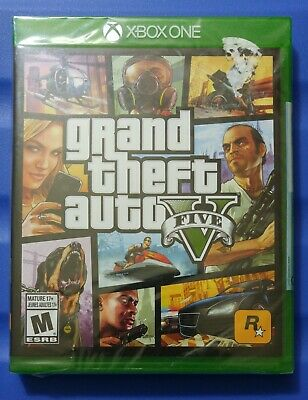 Grand Theft Auto 5 Xbox One Game (New Sealed) GTA Five XB1