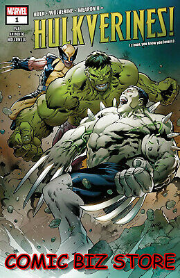 Hulkverines #1 (Of 3) (2019) 1St Print Land & D'armata Main Cover Marvel($4.99)