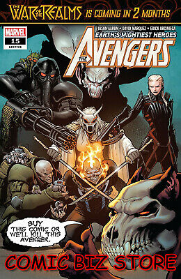 Avengers #15 (2019) 1St Printing David Marquez Main Cover Marvel Comics