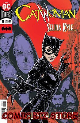 Catwoman #8 (2019) 1St Printing Jones Main Cover Dc Universe Bagged & Boarded