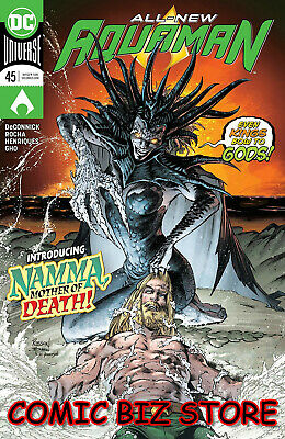 Aquaman #45 (2019) 1St Printing Dc Universe Main Cover Bagged & Boarded Dc Univ