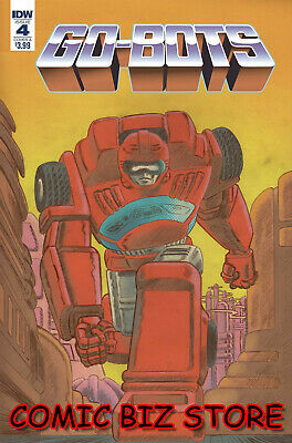 Go-Bots #4 (2019) 1St Printing Scioli Cover A Bagged & Boarded Idw Comics