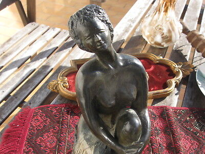 Jacqueline COLLIOT dite COLINE ( 1927 - 2016 ) BRONZE D'ART CONTEMPORAIN FEMME