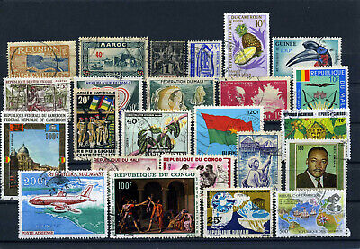 nice lot former FRENCH AFRICA, all postally used (1)