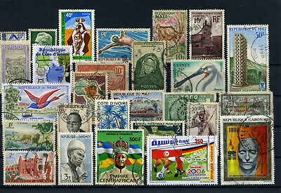 nice lot former FRENCH AFRICA, all postally used (2)