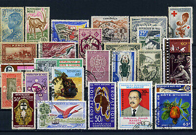nice lot former FRENCH AFRICA, all postally used (3)