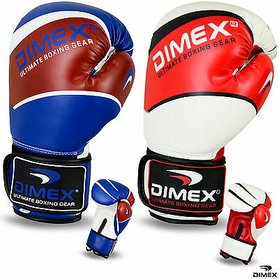 Boxing Gloves Sparring Glove Professional Punch Bag Training MMA Mitts 10 - 16oz