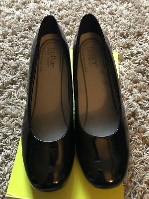 Hotter Olwyn Patent Leather Shoes 7.5