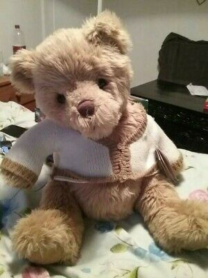 Teddy Bear large super soft Bartholomew Bear complete with toy passport!
