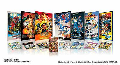 NEW NINTENDO SWITCH Capcom Belt Action Collection Collector's BOX JAPAN IMPORT