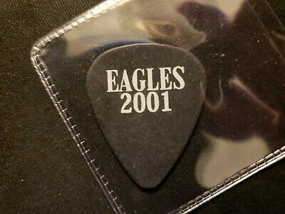 The Eagles Don Henley authentic 2001 concert tour band issued stage Guitar Pick