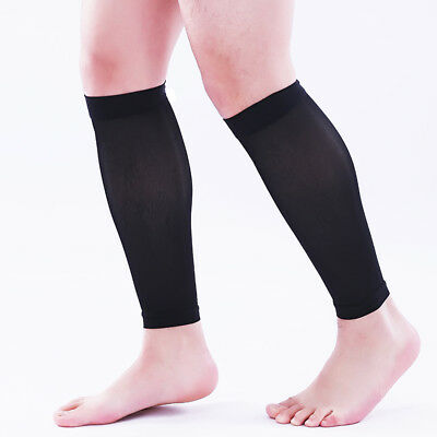20-30 mmHg Medical Calf Compression Sleeve Socks Support Travel Flight Stockings