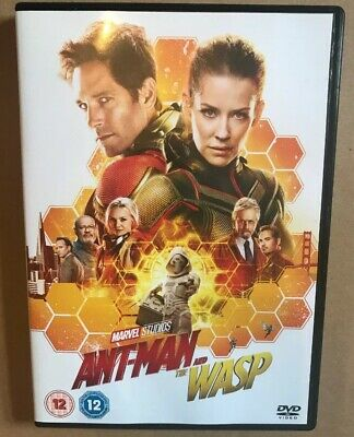 Ant Man And The Wasp Dvd