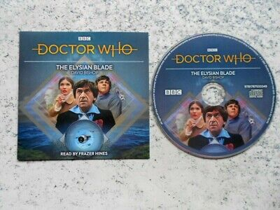 """(2nd) Doctor Who: """"The Elysian Blade"""" (1xCD Audio Book)"""