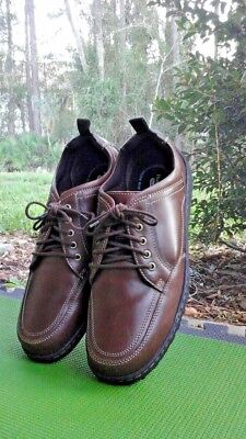 4428a5c53a5 HUSH PUPPIES BELFAST Oxford Men's Sz US14/ Eur 48 Extra Wide Brown ...