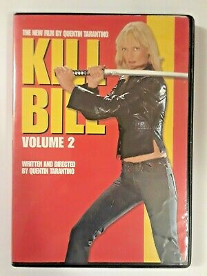Kill Bill Volume 2 DVD Uma Thurman Quentin Tarantino