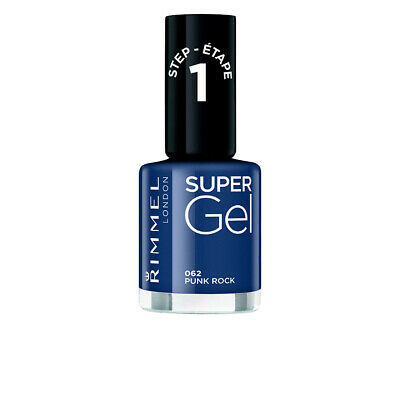 Maquillaje Rimmel London mujer KATE SUPER gel nail polish #062-punk rock